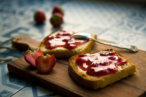 jordbær marmelade pixa