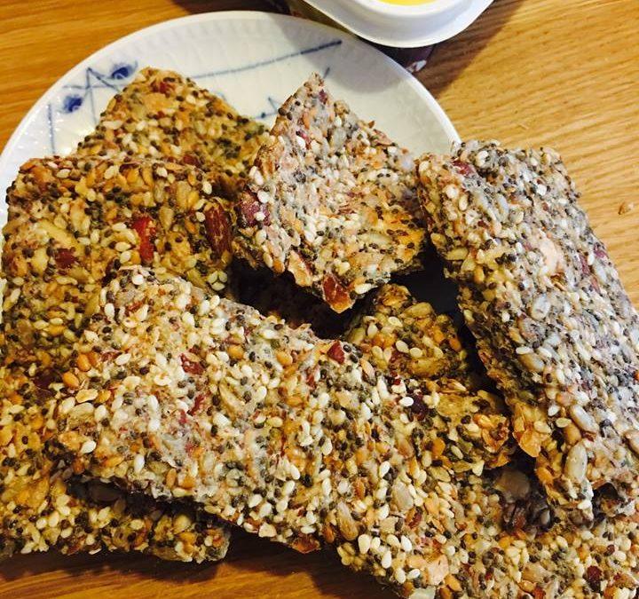 Chia knækbrød – glutenfrie