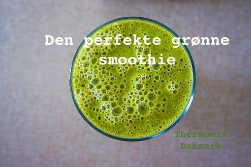 Den perfekte grønne Smoothie