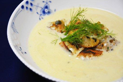 Suppe med pynt pixa