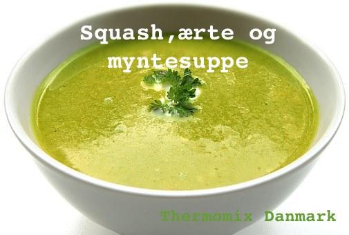 grøn suppe